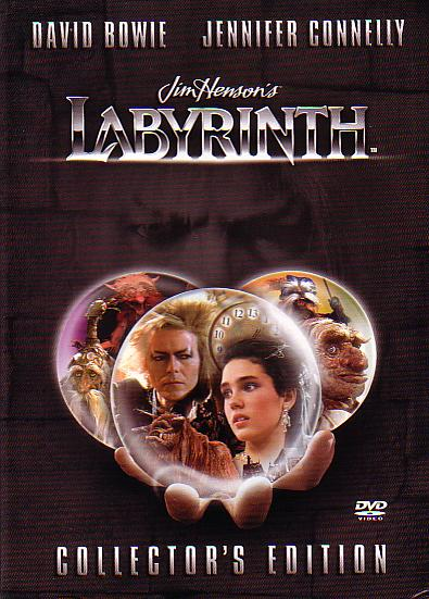 Think Labyrinth: The Movie! Labyrinth 1986 Poster